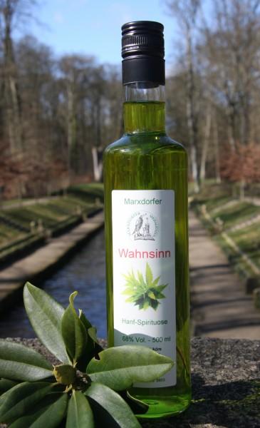 Wahnsinn 68 % Vol. Hanf-Spirituose