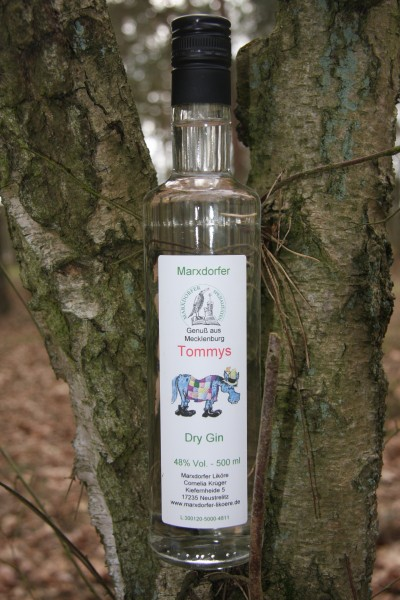 Tommys 48 % Vol., Gin