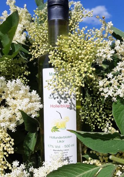 Hollerblüte 17%Vol Holunderblüten-Likör