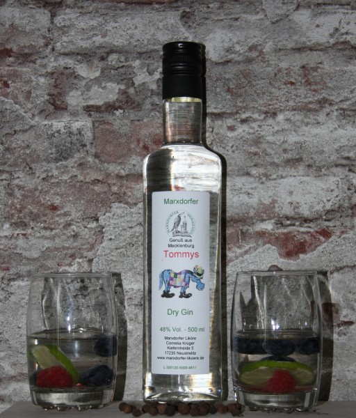 Tommys 48 % Vol. Gin
