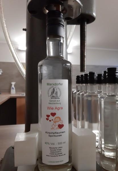 Wie Agra 40 % Vol Kirschpflaumen-Spirituose