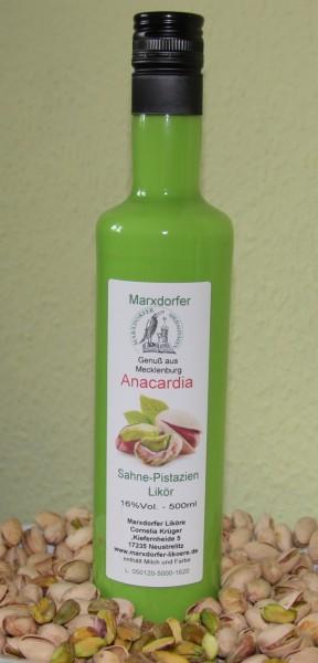 Anacardia16%Vol.Sahne-Pistazie-Likör