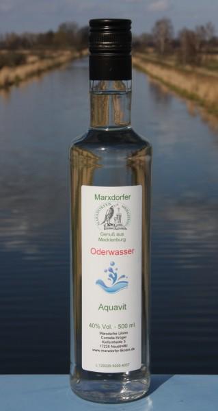 Oderwasser 40 % Vol.,Aquavit