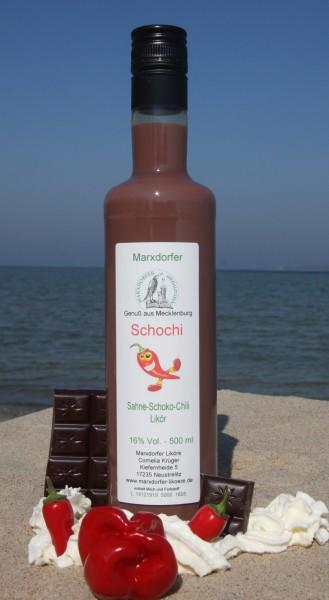 Schochi 16 % Vol. Sahne-Schoko-Chili