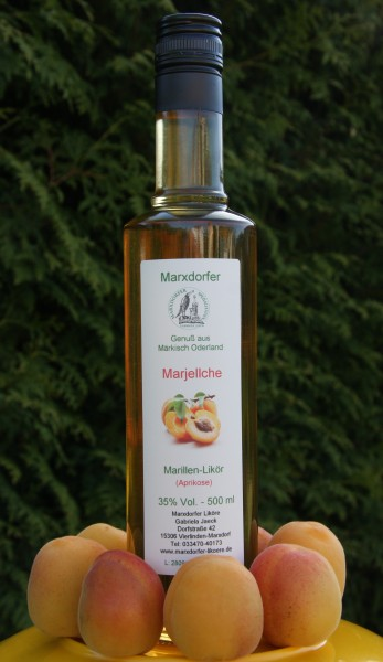 Marjellche 35%Vol Marillen-Likör